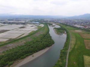 4_ドローン河川